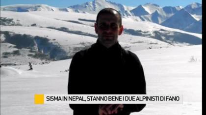 Sisma in Nepal, stanno bene i due alpinisti di Fano – VIDEO