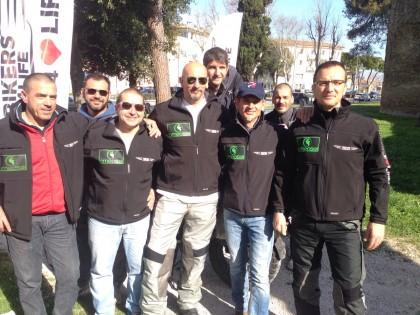 Iniziato il viaggio di Bikers For Live verso l'Armenia – FOTO