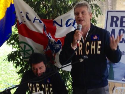 Salvini a Fano
