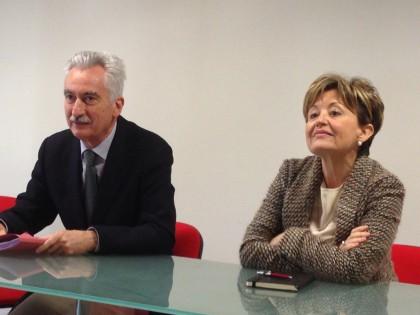 Aldo Ricci e Luisa Capasso