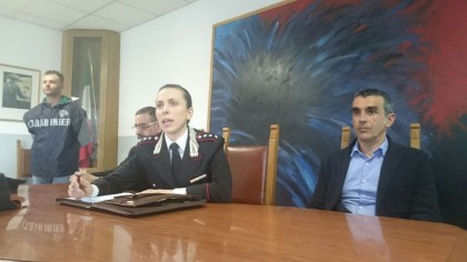 Francesca Baldacci capitano comandante carabinieri urbino
