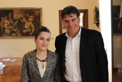 """Giorgia Chiara Baldarelli racconta la sua giornata da """"primo cittadino"""""""