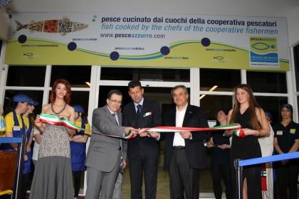 Inaugurato il quinto ristorante self-service Pesceazzurro, 15 nuovi posti di lavoro