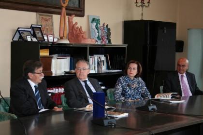 Visita del Prefetto alla Fondazione Carifano