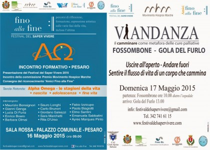 Alpha Omega Pesaro Viandanza Fossombrone
