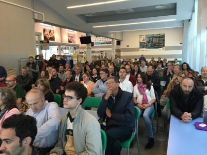 Il maltempo non frena la partecipazione all'incontro con la Senatrice Paola Taverna – VIDEO