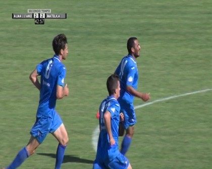 Pari 2-2 tra Alma Juventus Fano e Matelica