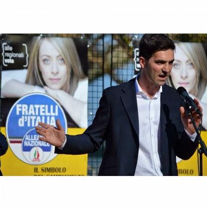 Il candidato presidente Francesco Acquaroli incontrerà domani i cittadini