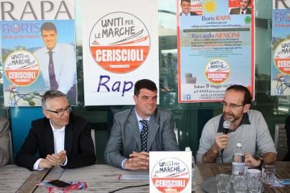 Il Ministro Nencini a Fano per sostenere la candidatura di Boris Rapa