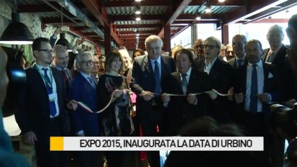 Inaugurata la Data a Urbino – FOTO – VIDEO