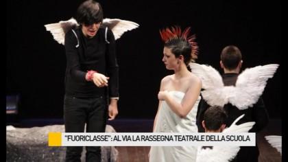 """""""Fuoriclasse"""": al via la rassegna teatrale della scuola – VIDEO"""