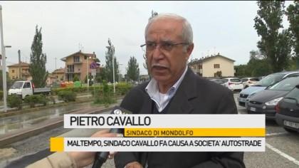 Maltempo, il Sindaco Pietro Cavallo fa causa a Società Autostrade – VIDEO