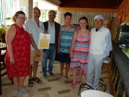 Trascorre le vacanze a Fano da oltre 50 anni, premiato chirurgo svizzero