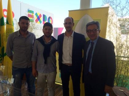 Expo, nella giornata delle Marche Coldiretti apre con la Dop Cartoceto