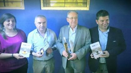 Moretta fanese donata alle Nazionali Calcio Prefetti e Tv