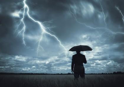 Maltempo: temporali al centro-sud, allerta Umbria e Marche