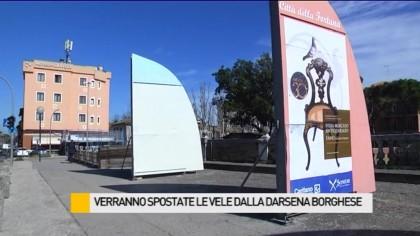 Verranno spostate le Vele dalla Darsena Borghese – VIDEO