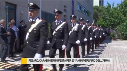 Festa per i 201 anni dei carabinieri (Foto e Video)