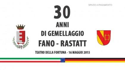 30 anni di gemellaggio Fano-Rastatt