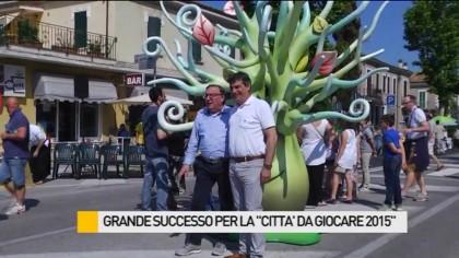 """Grande successo per """"La città da giocare 2015"""" – VIDEO"""