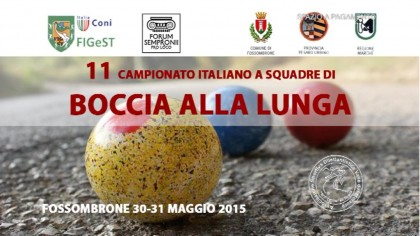 11° Campionato italiano a squadre di boccia alla lunga