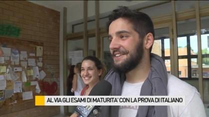 Al via gli esami di maturità con la prova di italiano – VIDEO