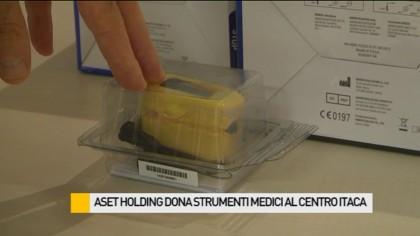Aset Holding dona strumenti medici al Centro Itaca – VIDEO