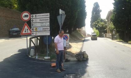 Lavori di asfaltatura delle strade comunali