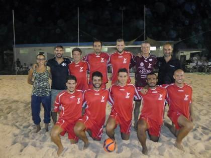 Trionfo dell'AJF Il Baretto al primo Trofeo dell'Adriatico di Beach Soccer