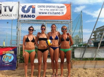 Concluso con successo il Beach-Volley CSI