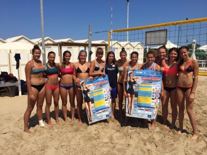 Fano scelta come sede dal Team Lombardia di Beach Volley