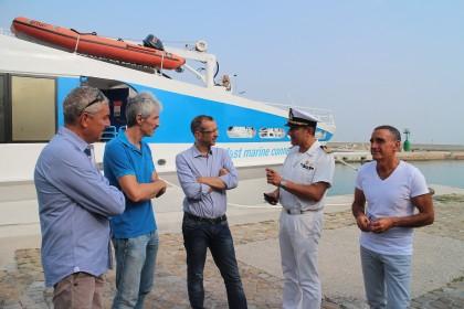 Torna il catamarano veloce Pesaro-Croazia, Ricci: «Altro passo avanti per il rilancio del porto»