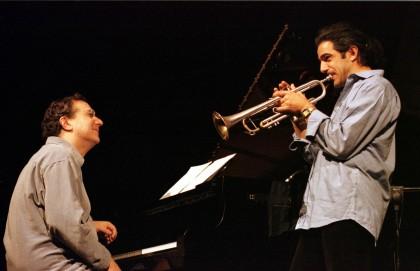 Paolo Fresu & Uri Caine 2 (foto di Raffaella Cavalieri-Iguana Press)