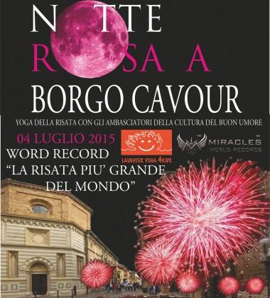 World Record alla Notte Rosa: 'La Risata più Grande del Mondo in 1 Minuto'
