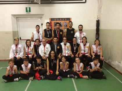 Record di medaglie per una scuola fanese al Torneo di Arti Marziali