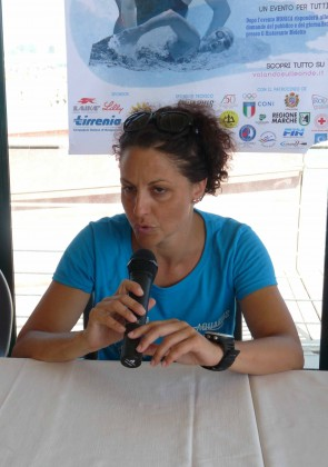 Una nuotata per la vita:  Monica Priore, atleta diabetica, inizierà dal Moletto