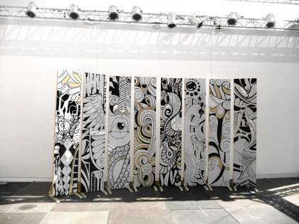 Il Liceo Artistico Apolloni realizza la scenografia del Fano Jazz 2015