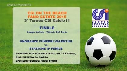 3° Torneo CSI Calcio 11 – Finale