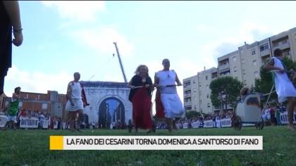 La Fano dei Cesarini torna domenica a Sant'Orso di Fano – VIDEO