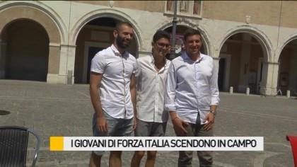 I giovani di Forza Italia scendono in campo – VIDEO