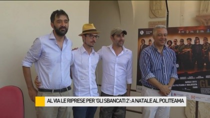 """Al via le riprese per """"Gli Sbancati 2"""": a Natale al Politeama – VIDEO"""