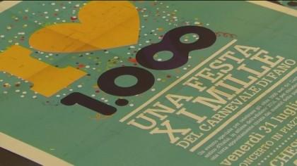 La Carnevalesca festeggia in piazza XX Settembre i 1000 soci – VIDEO