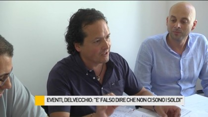 """Eventi, Delvecchio (UdC): """"E' falso dire non ci sono soldi. Ecco sono stati dirottati"""" – VIDEO"""