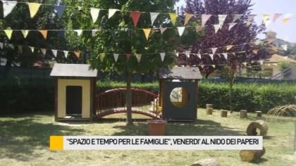 """""""Spazio e tempo per le famiglie"""", venerdì al Nido Dei Paperi – VIDEO"""
