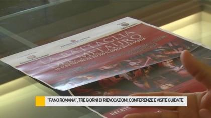 'Fano Romana': tre giorni di rievocazioni storiche, conferenze e visite guidate – VIDEO