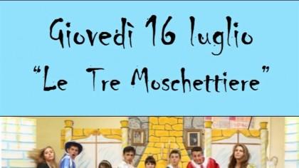 """""""Le Tre Moschettiere"""", giovedì 16 luglio all'Arena BCC di Fano – VIDEO"""