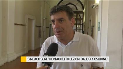 """Sindaco Seri: """"Non accetto lezioni dall'opposizione"""" – VIDEO"""