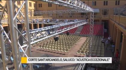 "Corte Sant'Arcangelo, Salucci: ""Acustica eccezionale"" – VIDEO"