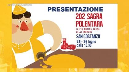 Presentazione 202°  Sagra Polentara di San Costanzo