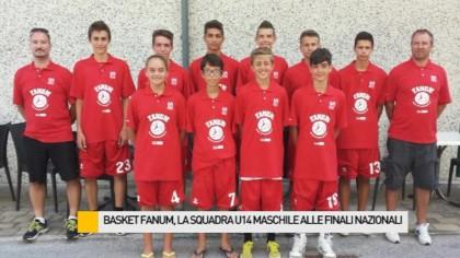 Basket Fanum, la squadra U14 maschile alle finali nazionali – VIDEO